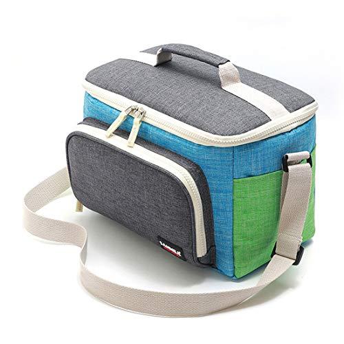 LHY TRAVEL Sac de Pique-Nique Sac Isotherme Portable Sac Isotherme à Feuille d'aluminium Sac de boîte à Lunch Sac à Lunch
