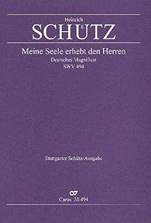 La mia anima erhebt den Herren swv494: Deutsches Magnif icat per