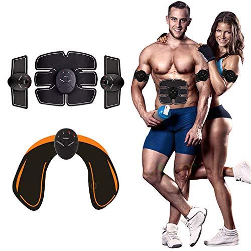 KADDGN Ccsme Muscle Trainer Estimulación Aptitud Masajeador Estimulador ABS Smart Wireless Abdominal del Cuerpo Delgado de glúteos
