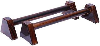 Paralletas de madera, en forma de H de madera barras de empuje de estilo ruso soporte de estiramient