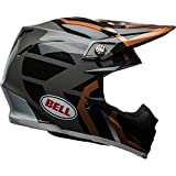 Bell Helmets BH 7091771, Bell Moto 9 MIPS District Nero/Rame XS Uomo