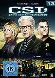 CSI: Crime Scene Investigation - Season 13 [6 DVDs] - Jorja Fox
