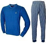 Navigare Pigiama Uomo Fresco Cotone Jersey Pantalone Manica Lunga 2141193 (5/L/50)