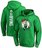 dll Baloncesto Sudadera con Capucha, Celtics de Boston Kyrie Irving # 11 Jersey Hombres y Mujeres Sudadera con Capucha for Mujer Sudadera de Baloncesto Suelto Camiseta (Size : XXX-Large)