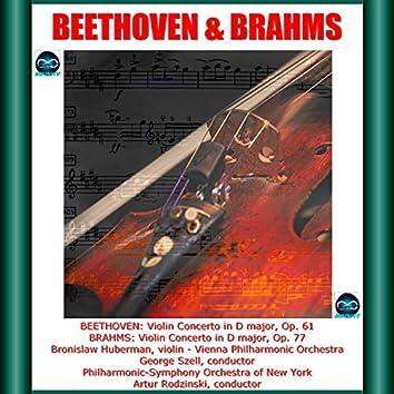 Beethoven & Brahms: Violin Concerto in D major, Op. 61-Violin Concerto in D major, Op. 77
