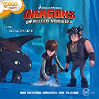 Die Schatzkarte (Dragons - Die Reiter von Berk 4) Hörbuch