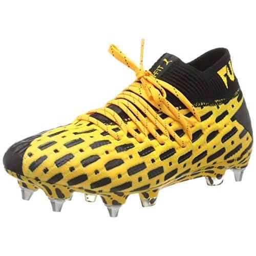 PUMA Future 5.1 Netfit MxSG, Scarpe da Calcio Uomo, Giallo (Ultra Yellow Black), 42.5 EU