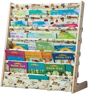 Estanterías Infantiles XJJUN Librería Infantil para Niños ,Estantería Infantil De Madera con Estante para Libros De Bolsillo , 3 Colores, 2 Tamaños (Color : C, Size : 75x30x79cm)
