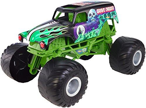 Hot Wheels Monster Jam Big Truck Grave Digger Vehicle
