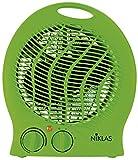 Kekai KT0591 - Termoventilador (Verde) 1000/2000 W 23x14x27 cm