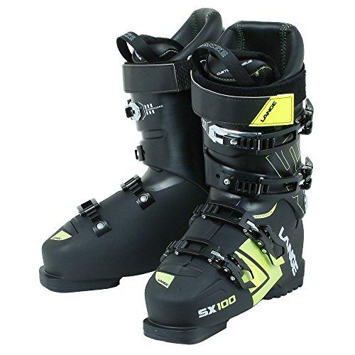 Lange - Chaussures De Ski Sx 100 (black-yellow) Homme - Homme - Taille 25.5 - Noir