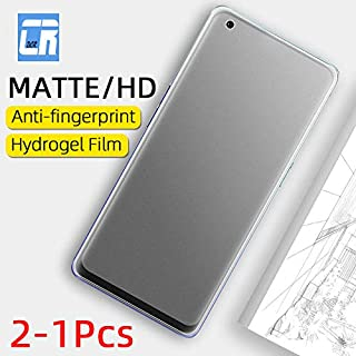 Jellyfish-Phone Screen Protectors - No Fingerprint Matte Hydrogel Film for Oppo Realme 6 6i X50 Pro C3 Screen Protector fo...