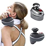 SEWOBYE deep Tissue Percussion Therapeutic Massager,Electric Therapy Handheld Massagers for Body. Cordless Portable for Athletes Recovery, Muscle Pain Relief use to Gym Office Home-Ultra Quiet.