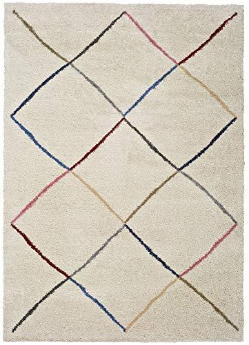 Unitrama Tapis de Sol Série Kasbah - Modèle : 8600-80X150 cm - Poils : 25,00 mm