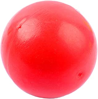 Kuntrona Solid Dog Ball Toy Dogs Chew Playing Toys Pet Ball Training Toy Rubber Non-Toxic Odorless Red Color
