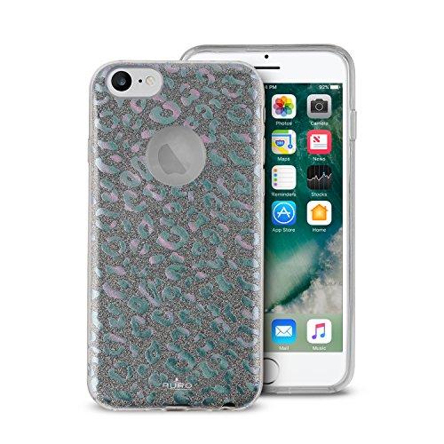 Puro Cover PC+TPU Shine Leopard per iPhone 6/6s/7/8 Iridescente