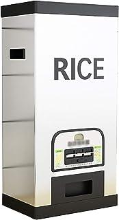 Seau à riz scellé intelligent Récipient pour aliments résistant à l'humidité Seau à riz en acier inoxydable Boîte de range...