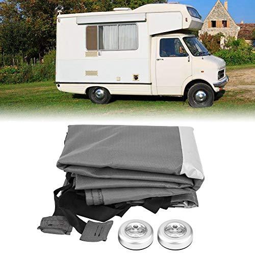 Lona de protección para caravana, funda protectora de caravana para la mayoría de caravanas, 2,5 m, universal