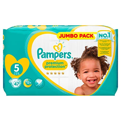 Pampers Premium Protection Windeln, Gr. 5, 47 Windeln