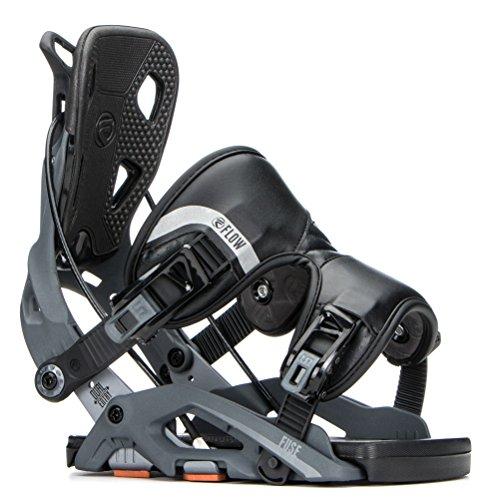Flow Fuse Snowboard Bindings Mens Gunmetal M