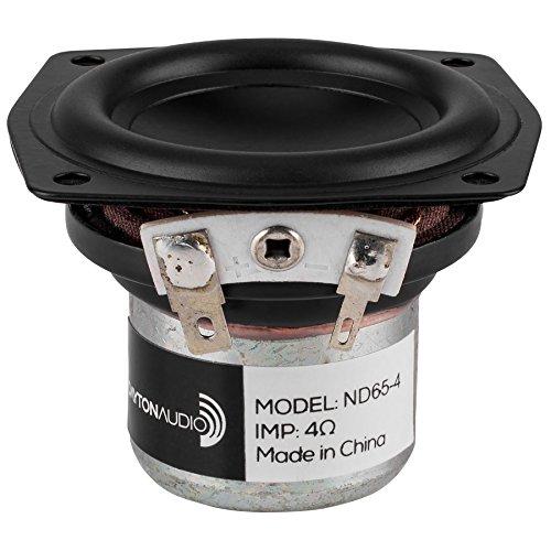 Dayton Audio ND65-4 2-1/2' Aluminum Cone Full-Range Driver 4 Ohm