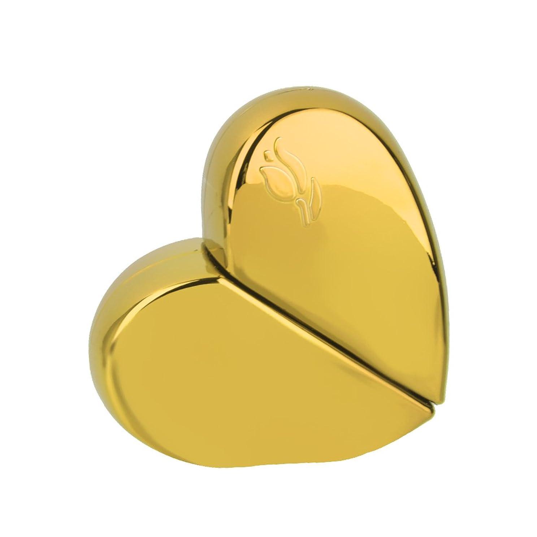 アライアンス非常に怒っています寛容な【ノーブランド 品】旅行 香水アトマイザー 香水瓶 詰め替えスプレーボトル 25ml ゴールド ハート型