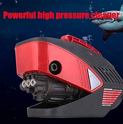 Pressure Washer Pump Compact High Pressure Washer Gun Car Portable Pressure Cleaner Handheld Motor Electric High Pressure Cleaner For Home Garden Car Washing Machine dljyy from dljxx