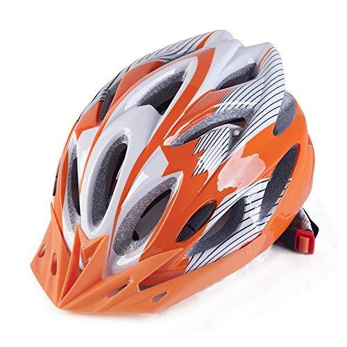 Casco de Bicicleta,Visera extraíble Ajuste de la Almohadilla de la Barbilla súper...