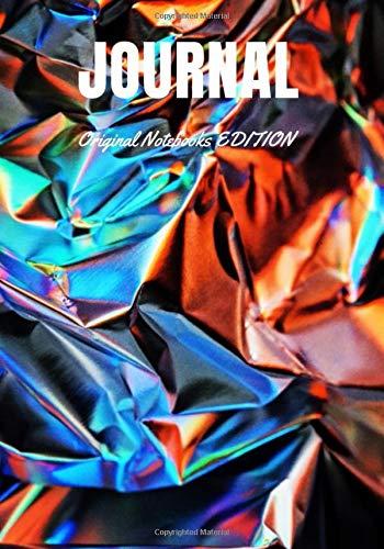 JOURNAL: Original Notebooks EDITION - Abstract and Minimalist Art Notebook ⎮ ALUMINIUM DESIGN LINED Journal Notebook ⎮ JOURNAL ⎮ 100 LINED PAGES ⎮ 7x10 po ⎮ ORIGINAL NOTEBOOKS EDITION