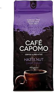 Cafe Capomo With Hazelnut- Herbal Coffee Alternative Caffeine Free, Dark Roast - Maya Nut - Non GMO, Eco Friendly 11 oz. D...