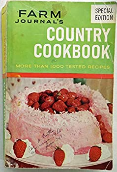 Hardcover FARM JOURNAL'S COUNTRY COOKBOOK First edition 1959 Book