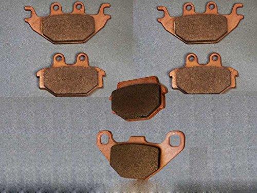 3x Bremsbeläge Ersatzteil für/kompatibel mit TGB Blade 550 IRS vorne & hinten Sintermetall
