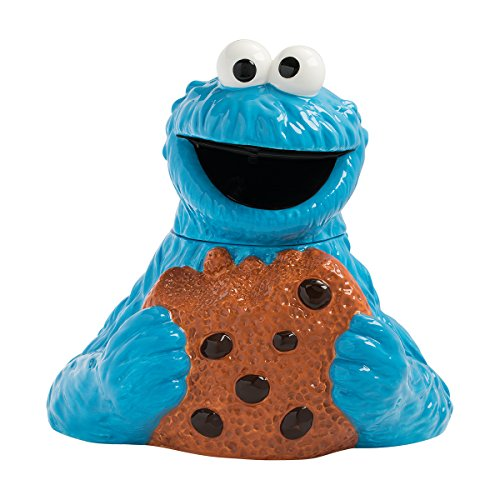 Vandor Blechbeutel Krümelmonster Cookie Jar mehrfarbig