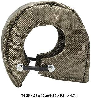 SANON Manta de Turbo Cubierta de Escudo de Calor Barrera Turbo Envoltura de La Cubierta Del Cargador para Turbocompresores T3