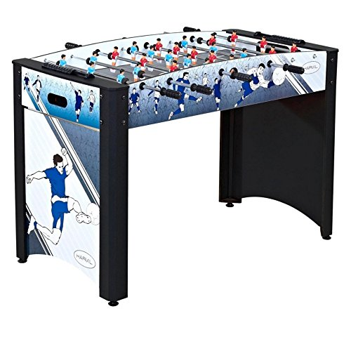 Harvil 4 Foot Striker Foosball Table with Safety Telescoping Rods