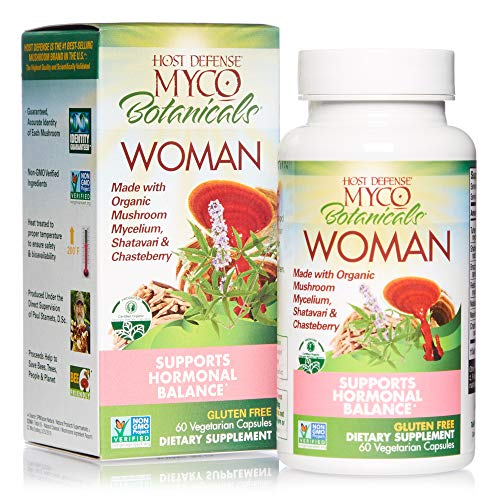 Host Defense, MycoBotanicals Woman, Mushroom and Herb Support for...