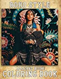 Amazing Book! - Boho Style Coloring Book: Adult Coloring Book for Bohemian Styles And Stress Relief & Relaxation