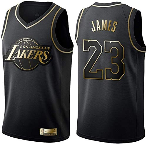 June Bart Camiseta de Baloncesto para Hombre,Mujeres Jersey Hombre - Los Angeles Lakers # 23 James Jerseys Transpirable Bordado Baloncesto Swingman Jersey