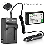 Kastar Battery and Charger for Olympus Evolt E-400 E-410 E-420 E-450 E-620; Pen E-p1 E-p2 E-p3 E-pl1 E-pl3 Digital SLR Camera, Battery PS-BLS1 BLS-1 and Charger PS-BCS1 BCS1