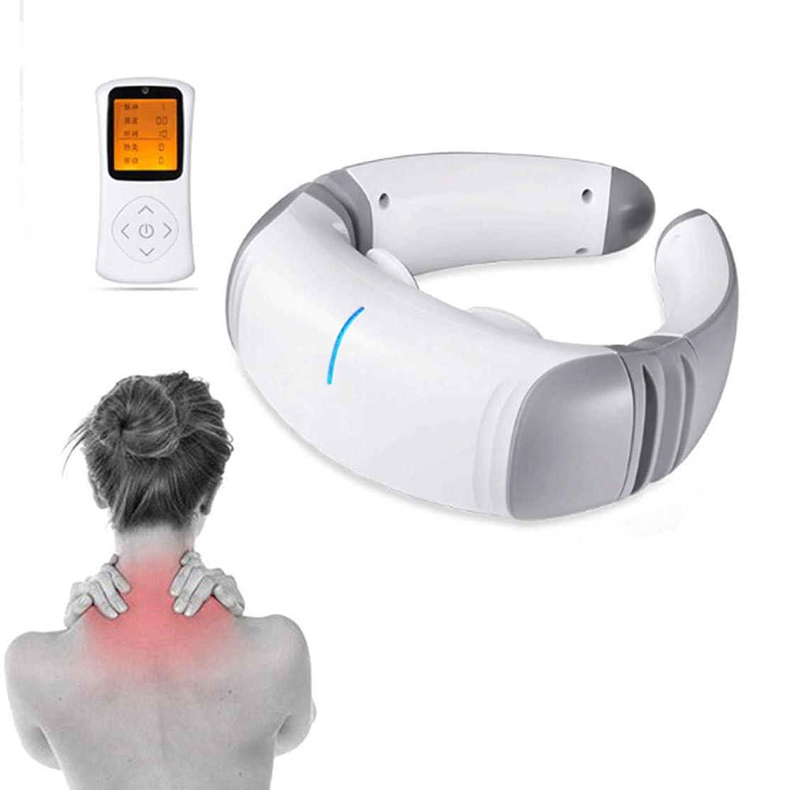 びんセットアップ悪因子理性的な首の肩のマッサージャー、3D電磁石の脈拍、暖房機能の頚部腰の足の椎骨のマッサージャー、高周波振動、車、オフィス、家のため