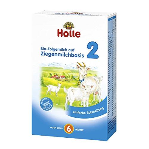 Holle Bio Folgemilch auf Ziegenmilchbasis 2 (2 x 400 gr)