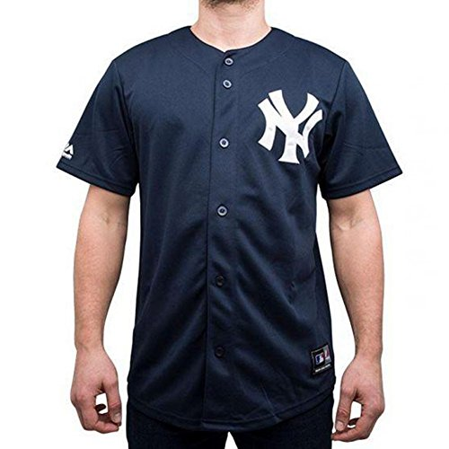 Majestic Hemd: MLB Replica Jersey NY Yankees NV S