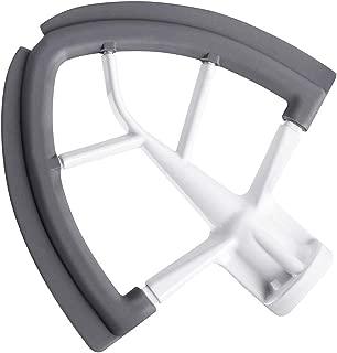 Flex Edge Beater for KitchenAid Tilt-Head Stand Mixer 4.5-5 Quart Bowls, Flat Beater Bowl Scraper with Silicone Edges KitchenAid Attachment, KitchenAid Mixer Accessory