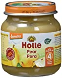 Holle - Potito 100% Pera Holle 125 gr 4m+