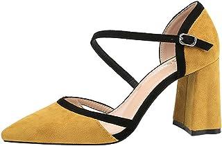 [VALER] パンプス 走れる スエード 甲ストラップ ロー ヒール 春夏 痛くない 結婚式 入学式 入園式 卒業式 卒園式 ラウンドトゥ プレーン フォーマル 黒 24.5cm 8cm ヒール レディース 歩きやすい 痛くない ファッション