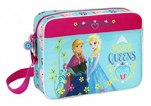 Disney Frozen Sac bandoulière 38 cm Sister Queens