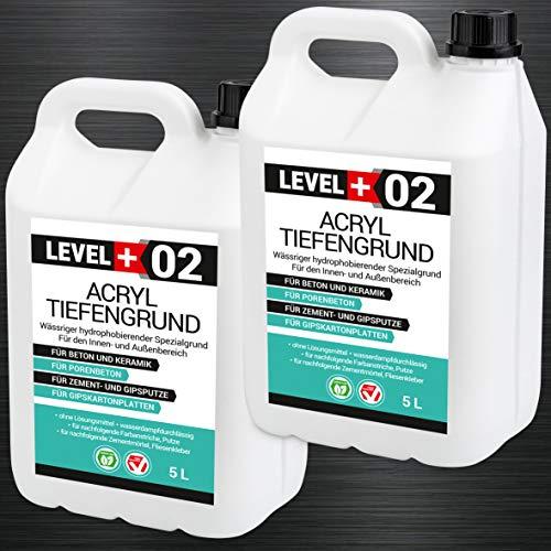 10 L Acryl Tiefengrund Acrylat-Grundierung gebrauchsfertige verarbeitungsfertig Haftgund RM02