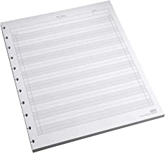 """Staples? Arc""""to-Do"""" Notebook Filler Paper, Letter-Sized, White, 50 Sheets"""