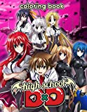 High School DxD Coloring Book: A Fantastic Book For Fans Of High School DxD With Unique Characters To Color, Relax And Leave All Stress Behind