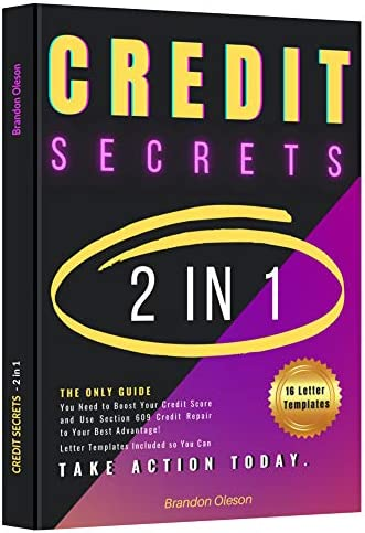 CREDIT SECRETS 2 IN 1 The Only Guide You Need to Boost Your Credit Score and Use Section 609 product image